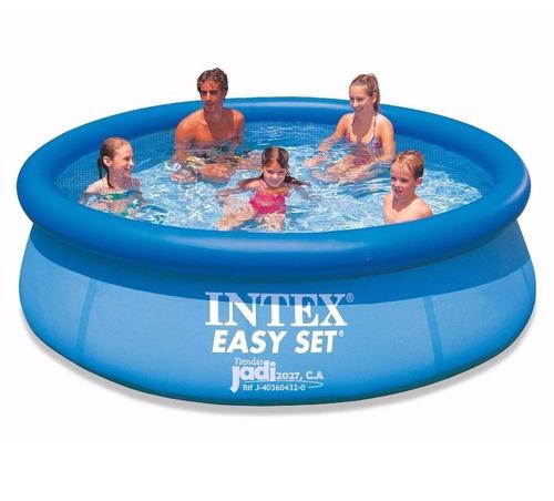piscina familiar inflable 305 x 76cm intex bs