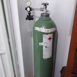 Bombona Oxigeno Medicinal Cargada + Regulador