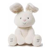 Peluche Conejo Baby Flora 30 Cm Sonido + Movimiento (40)