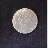 Moneda Plata 1936 Lei 900 25gr Fuerte 1936