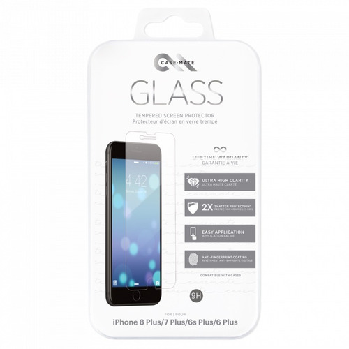 0478444eaa3 Protector Pantalla iPhone Plus(6 6s 7 8) Templad 9hcase Mate
