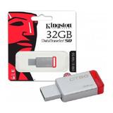 Pendrive Kingston 32gb Datatraveler 100 G3 Usb 3.0 Xtc