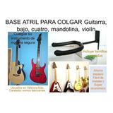 Base Atril De Pared Para Colgar Guitarra