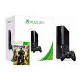 Xbox 360 E 500gb + 1 Juego + 1 Control