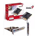 Tarjeta De Sonido Genius 5.1 Sm-live Value Pci Sound Maker