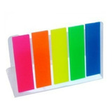 Banderitas Señales 5 Colores Neón Kores, Printa, Ofiart, Axc