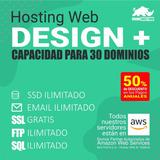 Hosting Hospedaje Web Web Design Plus - Pago Mensual