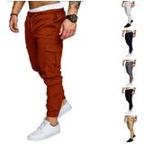 Pantalones Jogers Caballeros Slim Fit  By Plutonio
