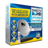 Decodificador Directv Antena Hd Prepago Plan Gold