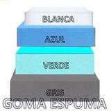 Goma Espuma Lamina 80x18cm Blanca 1 Pulgada Envío