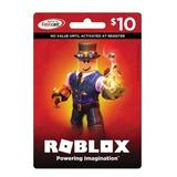 Tarjeta Roblox Robux (10) Original Giftcard - Mercadolider