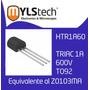 Z0102da Triac 1 A 600v To92 Htr1a60 Mac97a6 Z0103 Z0102