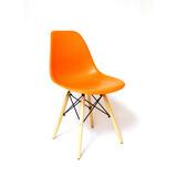 Silla Hogar Y Cafeteria Eames Naranja
