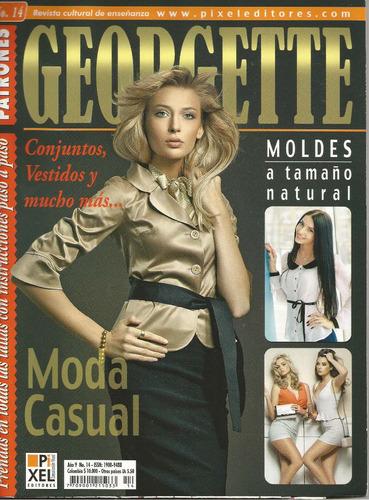 Revista Con Patrones Georgette Moda Casual 08c84819e06c