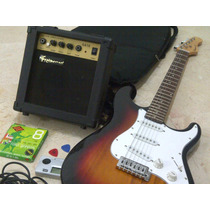 Guitarra Electrica+amplificador+forro +cuerdas Fretmaster