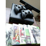 Xbox 360  Slim Kinect +juegos
