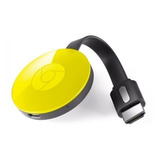 Google Chromecast Smart Tv (2da Generacion) Nuevo (amarillo)