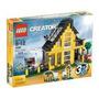 Espectacular Casa De Playa Lego 522 Piezas Para Construir