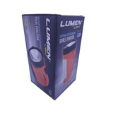 Linterna Recargable Led Lampara Doble Funcion Lumen 200m