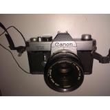 Cámara Fotográfica Análoga Manual Canon Tx Slr De 35 Mm