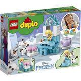 Lego Duplo Disney Frozen Toy Elsa Y Olaf Fiesta Del Te 17pcs
