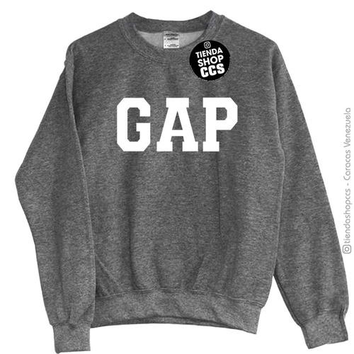 f12bd93ffefb1 Sweater Gap Suéter Sin Capucha Algodón Dama Y Caballero