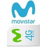 Linea Fija Movistar 20 Gb + 5 Lineas 8 Gb Natural O Juridico