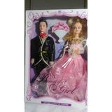 Muñeca Barbie Y Ken Casados Niñas