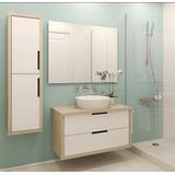 Mueble Modular Para Baños, Espejo, Lavamanos De 3 Pieza