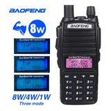 Radio Baofeng Uv82 8w Dual Band Vhf Uhf Bateria 2800mh Power