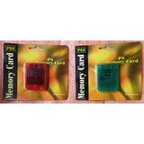 Memory Card 2 Mega Para Psx O Play 1 Nueva