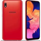 Samsung A10 32gb Nuevos Dual Sim Color Rojo Tienda Fisica