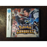 Pokemon Conquest Nintendo Ds Sellado Nuevo 3ds 2ds