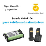 Pila | Bateria Hhr-p104 | 3.6v | Telefonos Inalambricos