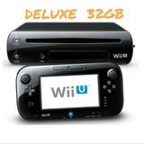 Nintendo Wi U Deluxe. Nuevo. 199.s  Con 5 Juegos Originales