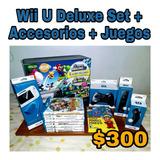 Nintendo Wii U + Accesorios + Juegos