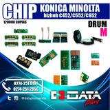 Chip Konica Minolta Bizhub C452/c552/c652 ,drum,120000k, Mag