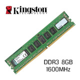 Memoria 8gb Ddr3 1600 Mhz Kingston Pc3-12800 Nuevas Oferta!!