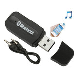 Transmisor Reproductor Receptor Bluetooth A Cable 3.5 Aux