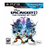 Ps3 Combo Epic Mickey 2  & Toy Story 3 Juego Digital 13gb