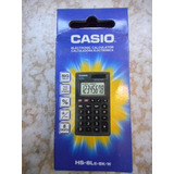 Calculadora Casio De Bolsillo 8 Digitos Hb-8le-bk-ww