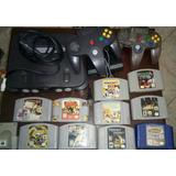 Nintendo 64 +10 Juegos+ 2control Mario Party3  En 90 Vrds