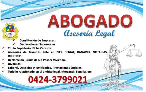 Abogados, Constitución De Empresas, Salud Ocupacional.