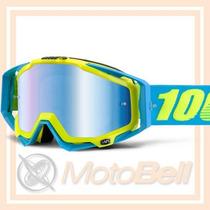 Lente 100% The Racecraft Barbados Motocross Enduro Downhill