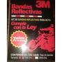 Banda Reflectiva De Seguridad 3m Bi-color Blanco Rojo