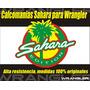 Emblema Para Jeep Sahara Lateral Precio Por Unidad