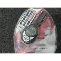 Transmisor De Sonido Para Carro/ Fm Mp3, Pendrive, Microsd