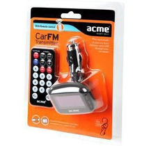 Mp3 Car Player Acme F200-01 Radio Usb Transmisor Adaptador