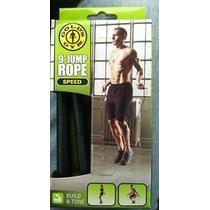 Cuerda Para Saltos Gold´s Gym Speed Jump Rope 9