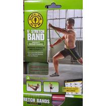 Banda Elastica Heavy Para Entrenar Yoga, Pilates Gold´s Gym